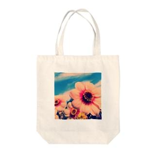HANAtoSORA Tote bags