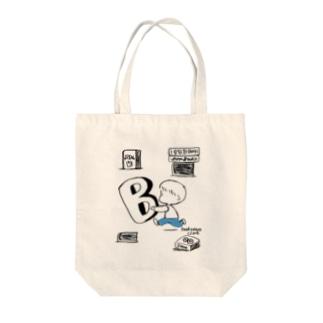 (わーくわくシリーズ)honyaさん Tote bags