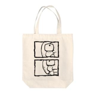 イノセントボーイ Tote bags