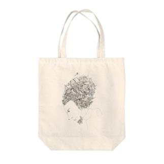 なんか...いつか描いたやつ Tote bags