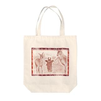 鹿せんべいを鹿にあげたいんだけど・・。 Tote bags