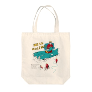 「HERO HOLIDAY」 Tote bags