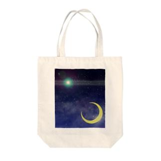 Cosmic Light Tote bags