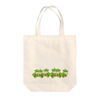 野いちご Tote bags