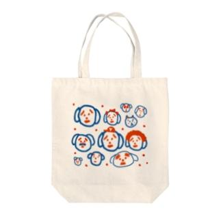 ヤンス Tote bags