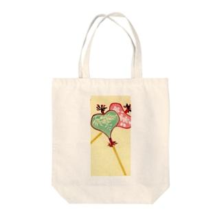 唐招提寺 うちわまき 縁起ものデザイン Tote bags