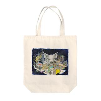 ブタちゃん Tote bags