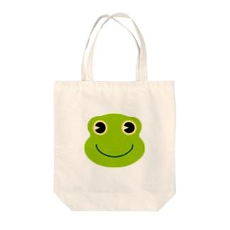 カエル Tote bags