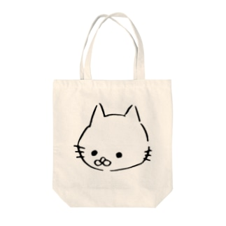下向き猫 トートバッグ