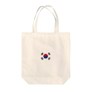 韓国 国旗 Tote bags