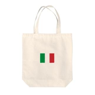 美々野くるみ@金の亡者のイタリア 国旗 Tote bags