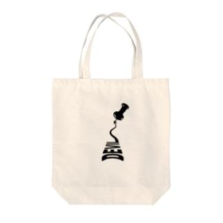 ミニデビル Tote bags