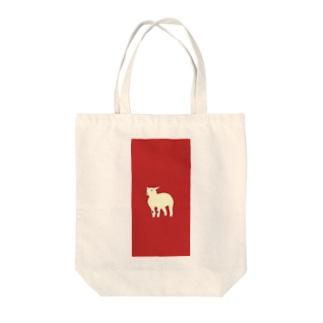 lamb_01 Tote bags