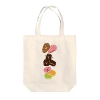 スイーツタイム-マドレーヌ・カヌレ・マカロン-sweets time-スイーツタイム- Tote bags