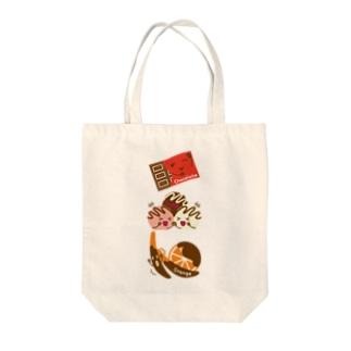 スイーツタイム-チョコ・トリュフ・オランジェ-sweets time-スイーツタイム- Tote bags