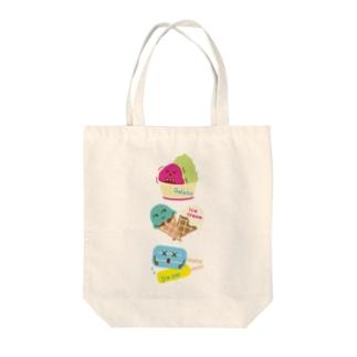 スイーツタイム-アイスキャンディー・アイスクリーム・ジェラート-sweets time-スイーツタイム- Tote bags