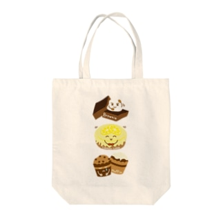 スイーツタイム-ブラウニー・ レモンケーキ・マフィン-sweets time-スイーツタイム- Tote bags