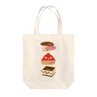 スイーツタイム-エクレア・タルト・ティラミス-sweets time-スイーツタイム- Tote bags