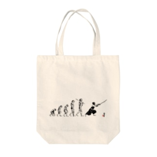 剣道 -進化図- Tote bags