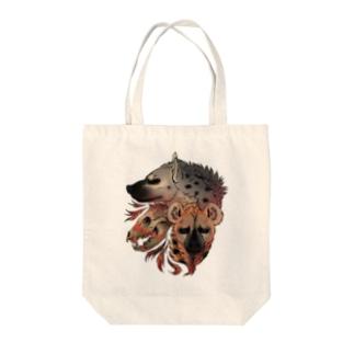 荒野のハイエナ Tote bags