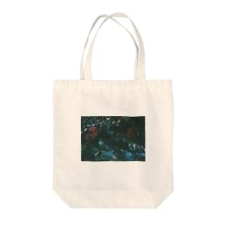 高嶺の花 Tote bags