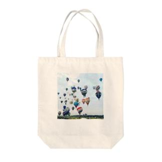 バルーーーン Tote bags