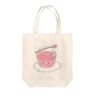 恋に溺れる Tote bags