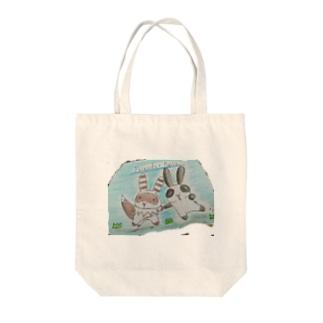 うさぱん_(:3 」∠)_ Tote bags