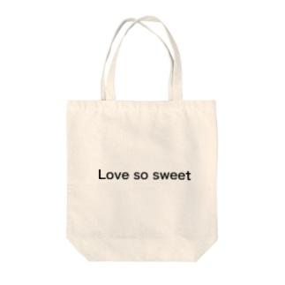 嵐 Love so sweetグッズ トートバッグ