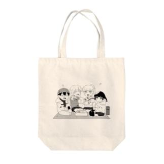 にこにこランチ Tote bags