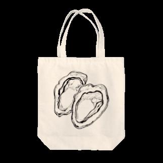 ぷくぷくマーケットのオイスター トートバッグ