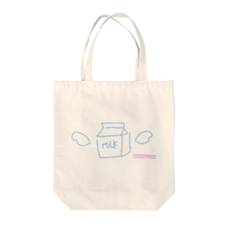 【until you finish drinking】牛乳 Tote bags