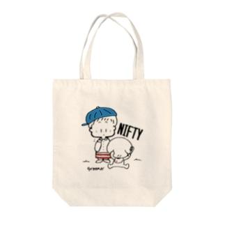 (わーくわくシリーズ)トリマーさん(Blue) Tote bags