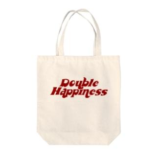 バブリーハピネス 赤 Tote bags