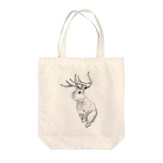 Jackalope× Tote bags