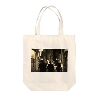 企業戦士 Tote bags