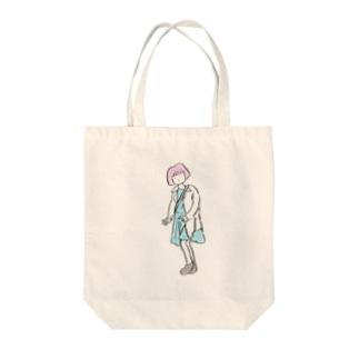 2014.10.24 焦る騒ぐ泳ぐ Tote bags