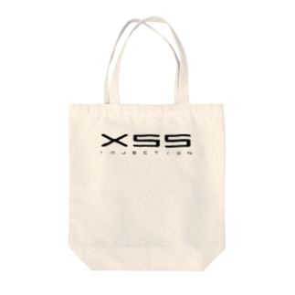XSS injection(白) Tote bags