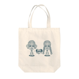 HELL CLINIC薄い色用 Tote bags
