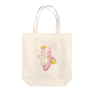 おでかけ Tote bags