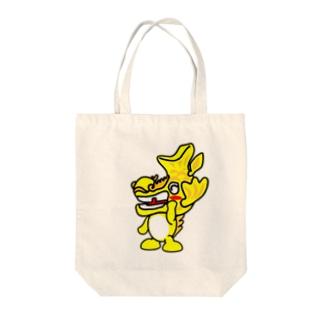 シャチホコ マスコット Tote bags