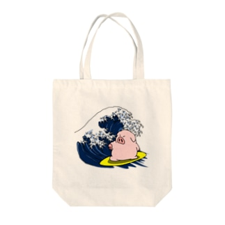 海豚 Tote bags