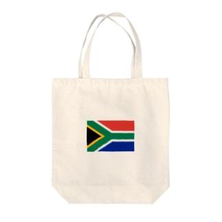 南アフリカ 国旗 Tote bags