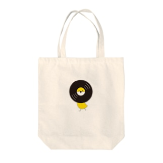 レコードリ秋の滝 -Left Walk Tote bags
