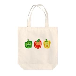 パプリカモンスター Tote bags