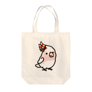 Chubby Bird クルマサカオウム Tote bags