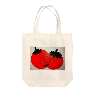 ぷちとまと Tote bags