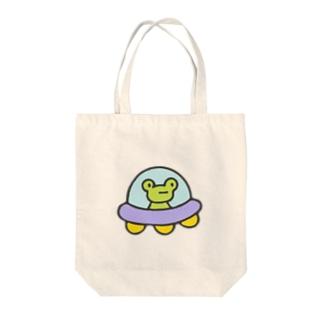 わがはいはかえるである Tote bags