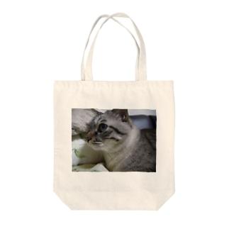 安藤にゃーすさん Tote bags