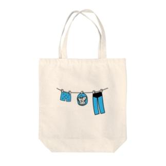 マスクマンの休日 Tote bags